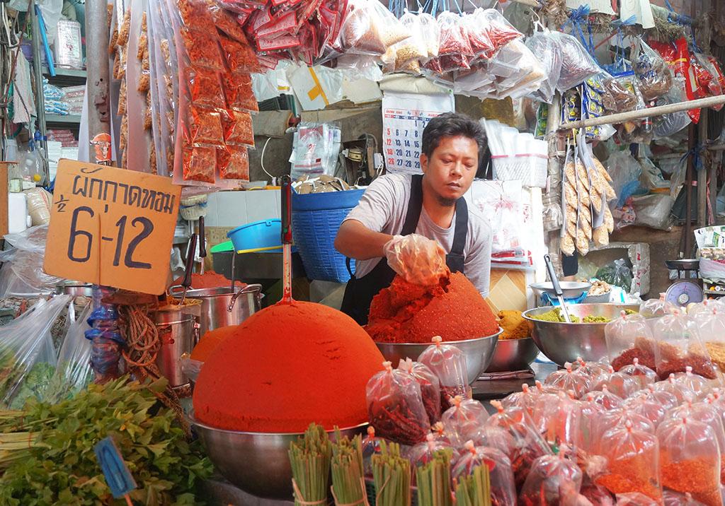 Chilis Klong Toey Slum Bangkok