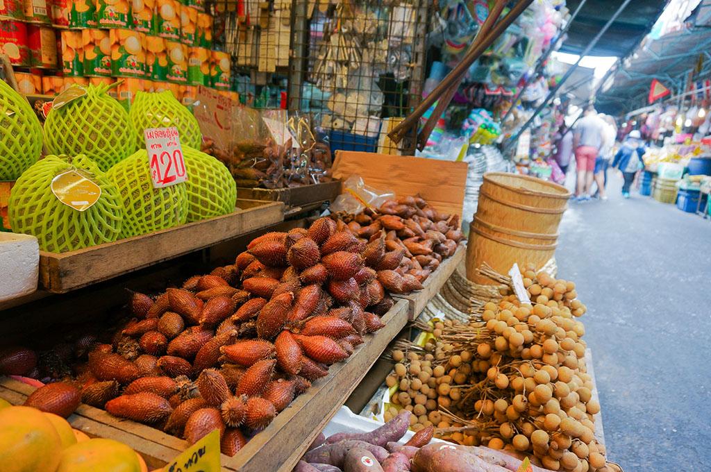 Fruit Klong Toey Slum Bangkok