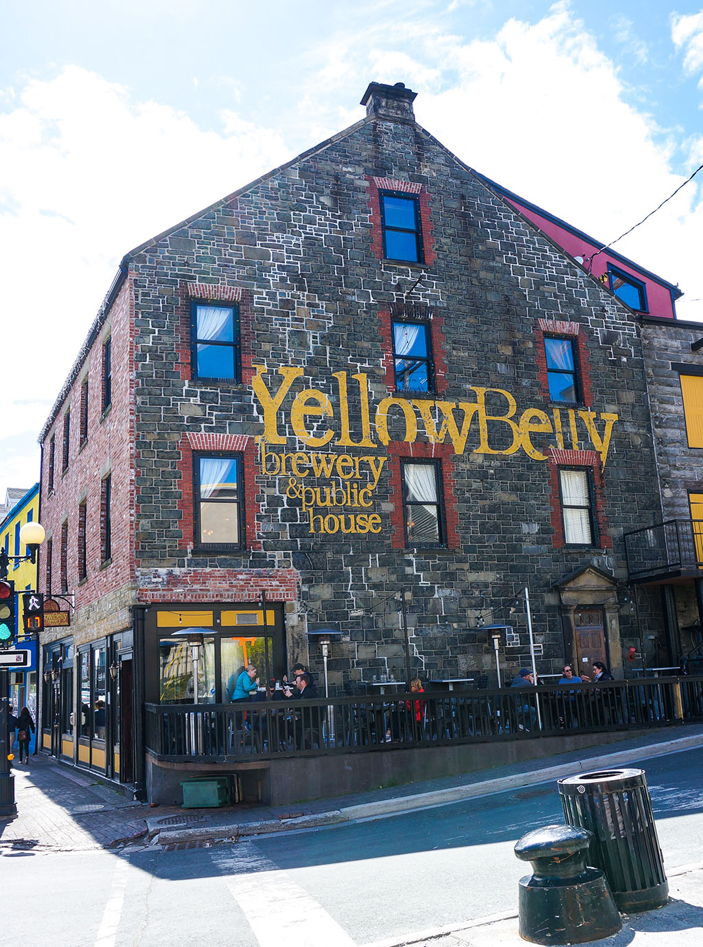 St. John's Beer Tours Yellowbelly Exterior