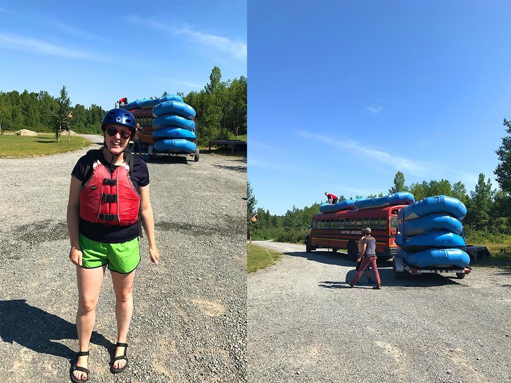 Raftng Newfoundland Summer 2017