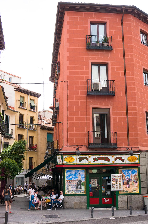 The Food Girl in Town.La Latina Madrid