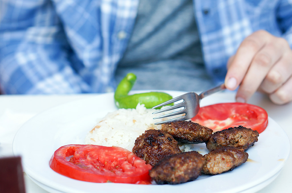 Turkish Foods Kofte.The Food Girl in Town