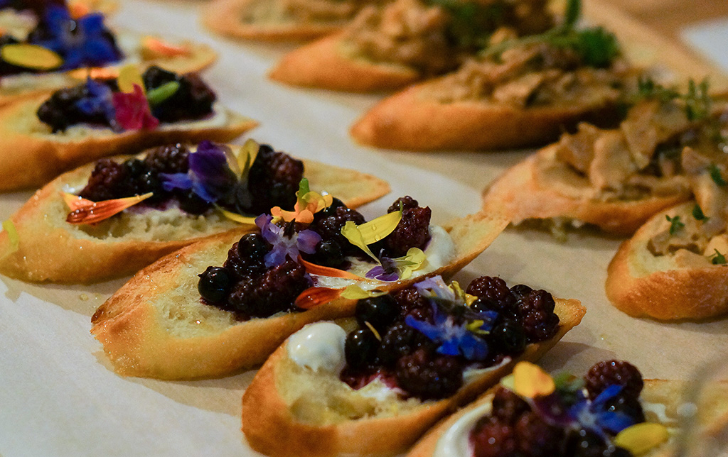Well and Good Dinners.Tartines Closeup.TheFoodGirlinTown