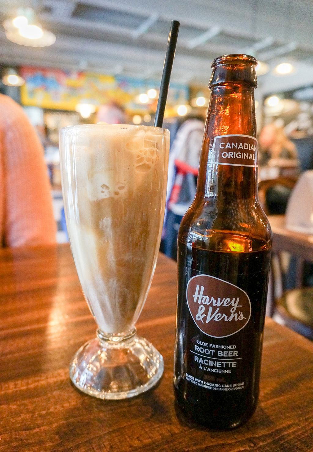 Adult milkshake.The Food Girl in Town.Ottawa Restaurants