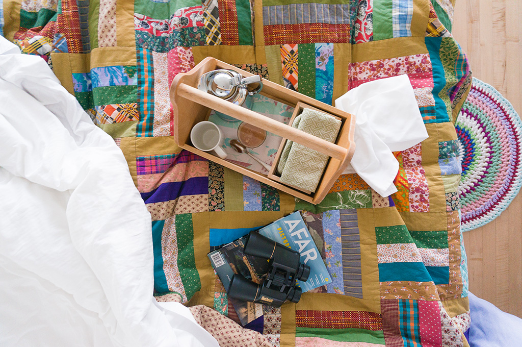 Fogo Island Daybreak Bed.The Food Girl in Town