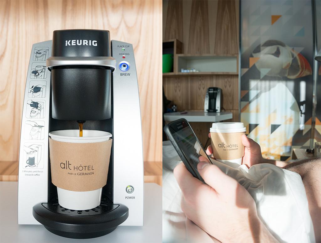 Alt Hotel St. John's Morning Coffee