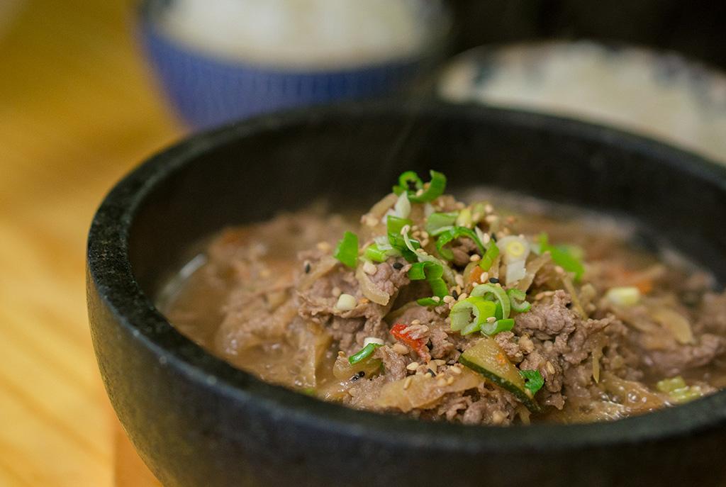 Kimchi & Sushi The Food Girl in Town Bulgogi