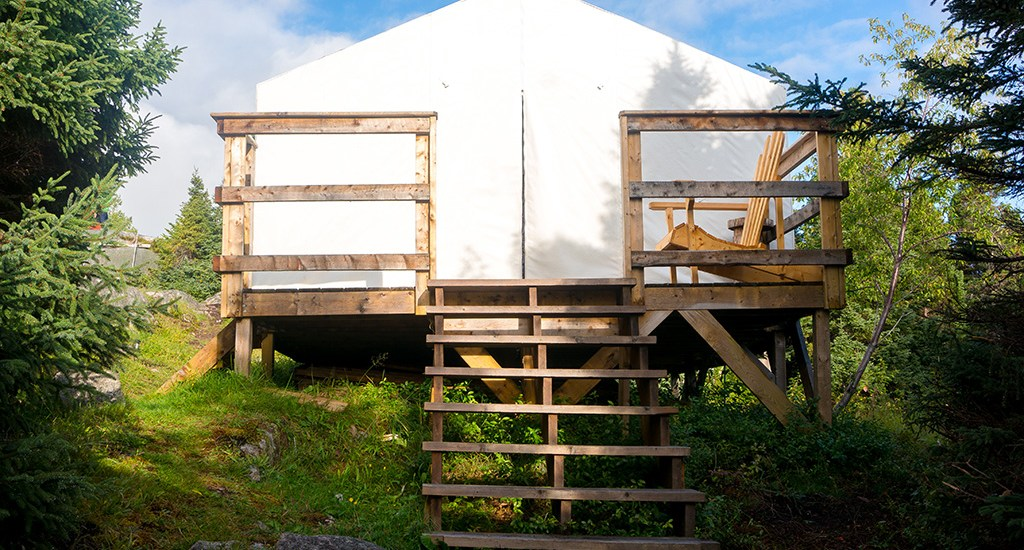 Glamping in Newfoundland: Feeling Right at 'Ome