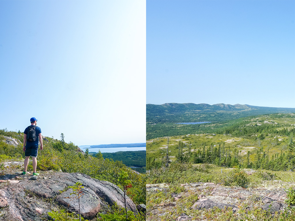 Chipps Hill Hike Glamping in Newfoundland