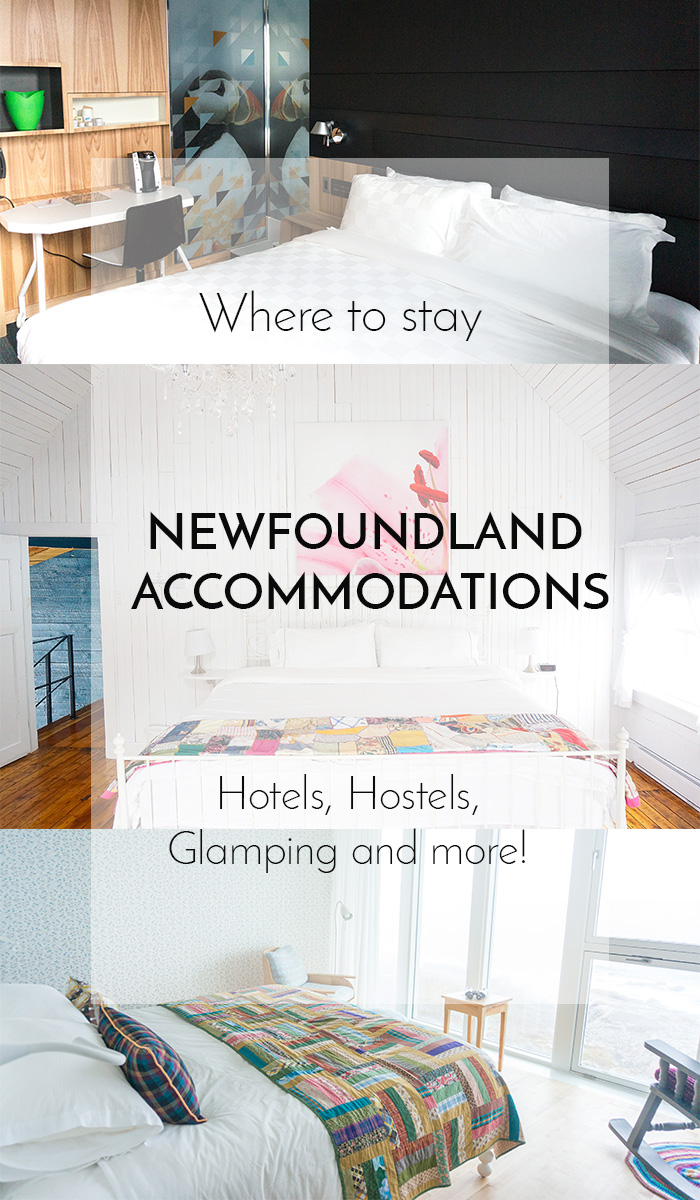 Newfoundland Accommodations by The Food Girl in Town