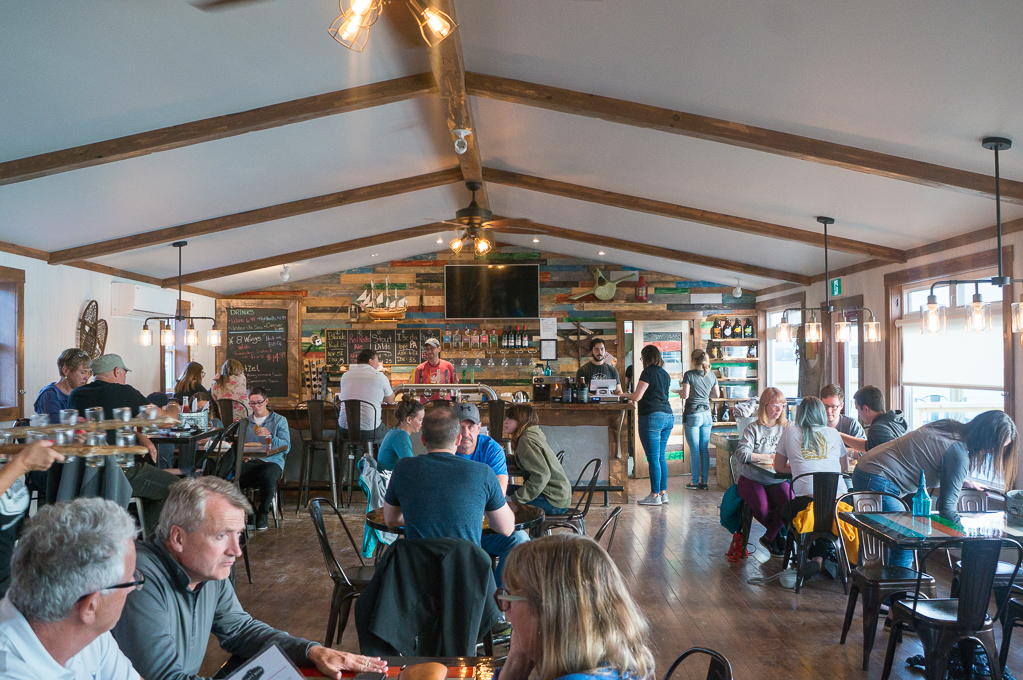 Dildo Brewing Co Main Bar area