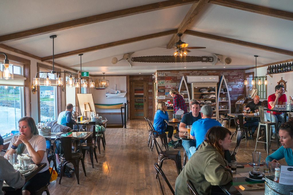 Dildo Brewing Co Main Dining Room