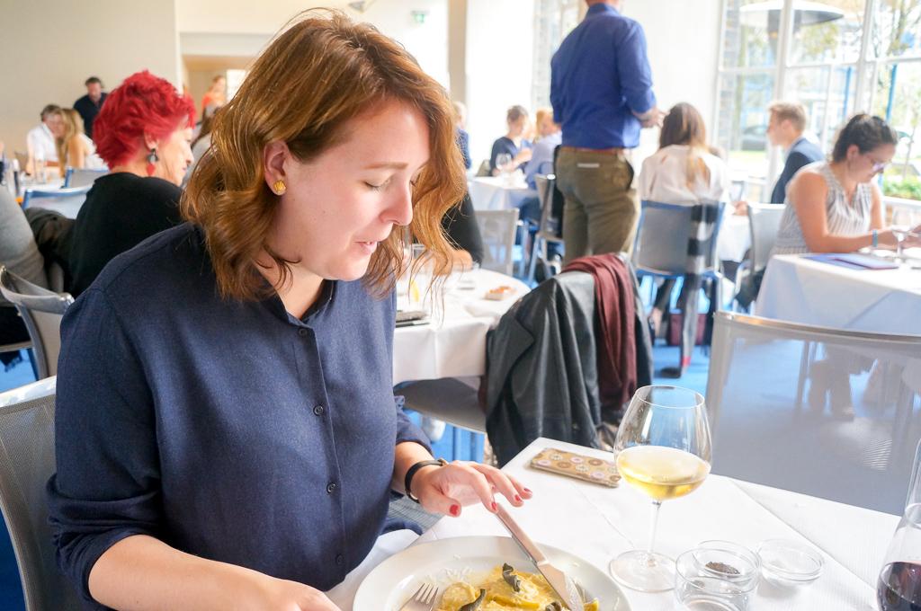 Gabby Ravioli River Cafe Best Restaurants in London