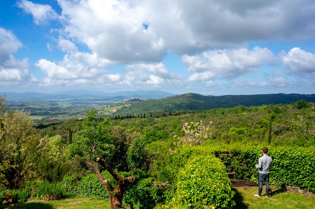 The view from Fattoria di Peruzzo