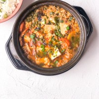 Recipe: Sundubu jjigae (Spicy Soft Tofu Stew)