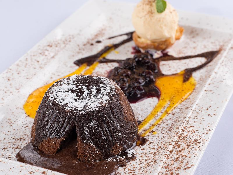 best lava cake and fondant recipes