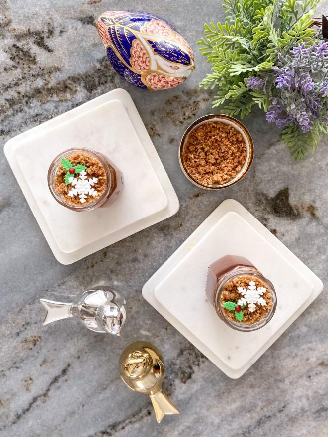 pumpkin-spice pots de crème