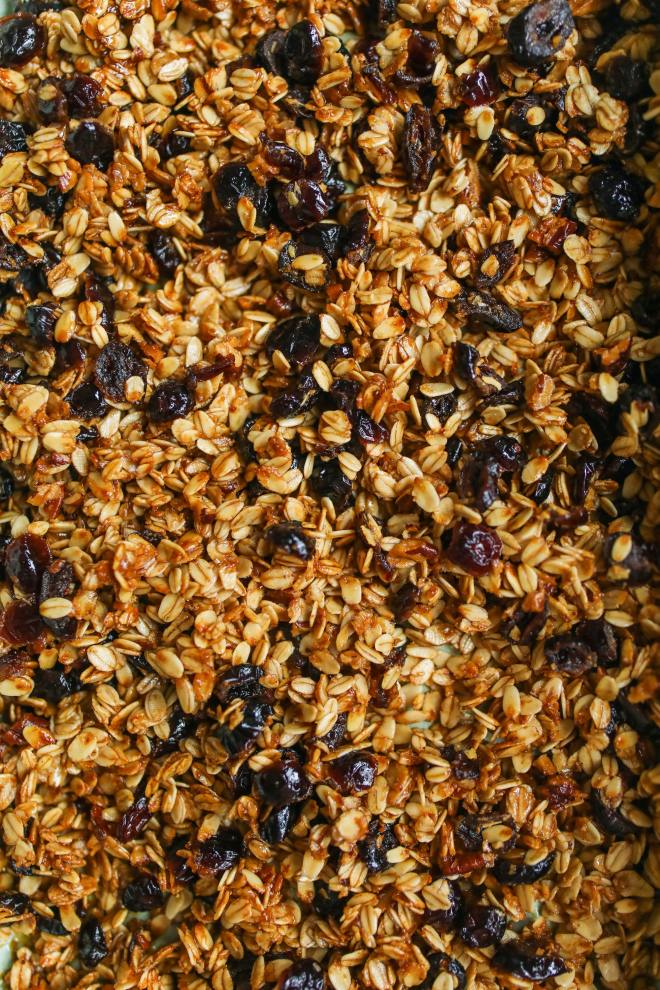 how to bake the best granola