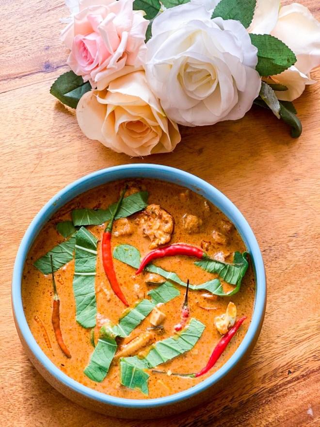 vegan penang curry
