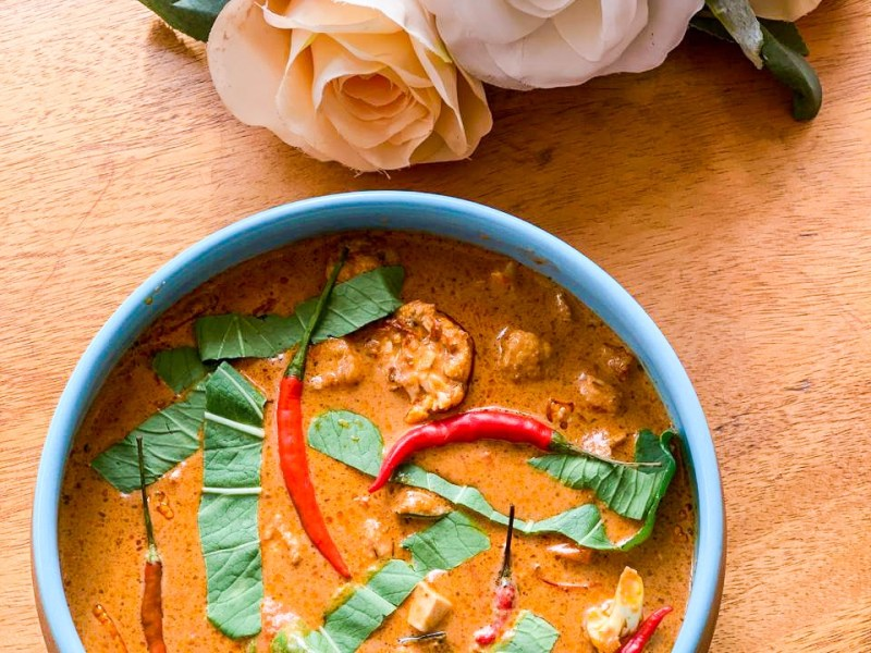 vegan penang curry recipe