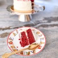 Eggless Desserts: Red Velvet Cake