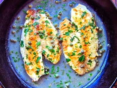 Dining with the Doc: Tilapia Piccata