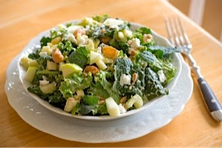Dining with The Fountain Avenue Kitchen: Kale Waldorf Salad