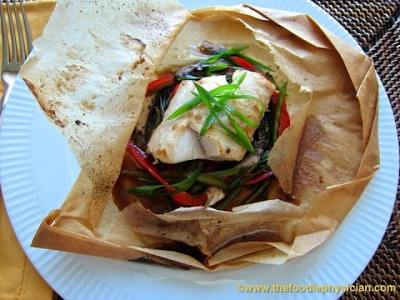 Dining with the Doc: Asian Black Cod en Papillote