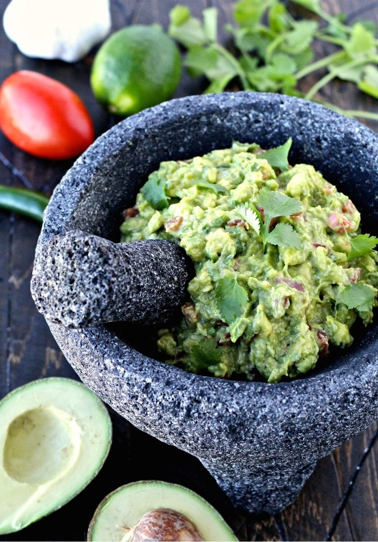 Super Bowl Sunday- Game Day Guacamole
