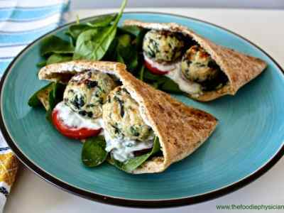 Cook Once, Eat Twice: Greek Meatball Pita Sandwiches