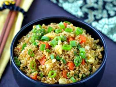 "Recipe Resuscitation: Quinoa Fried ""Rice"""