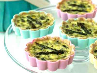 Dining with the Doc: Mini Spring Vegetable Quiches