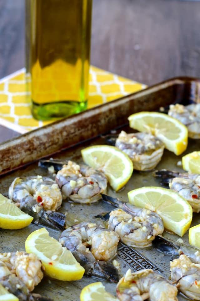 #thefoodiephysician #shrimpskewers #oliveoilsfromSpain