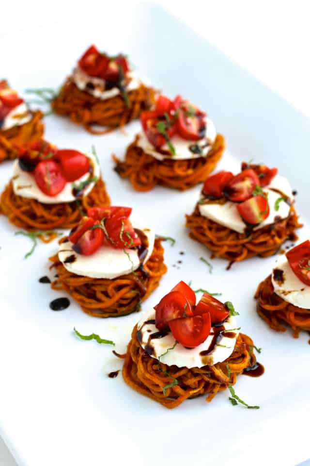 #sweetpotato #caprese #sliders #thefoodiephysician