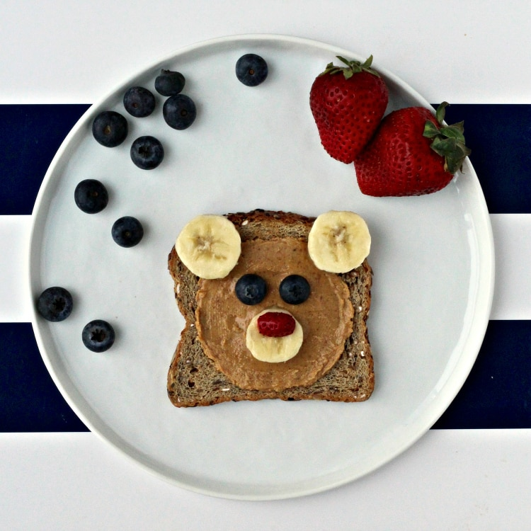 Preventing Childhood Obesity: Fun Toast | @foodiephysician