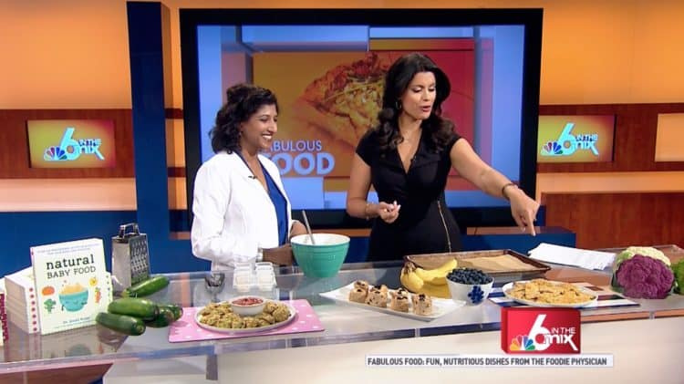 NBC 6 In The Mix: Nutritious Kid-Friendly Snacks | @foodiephysician