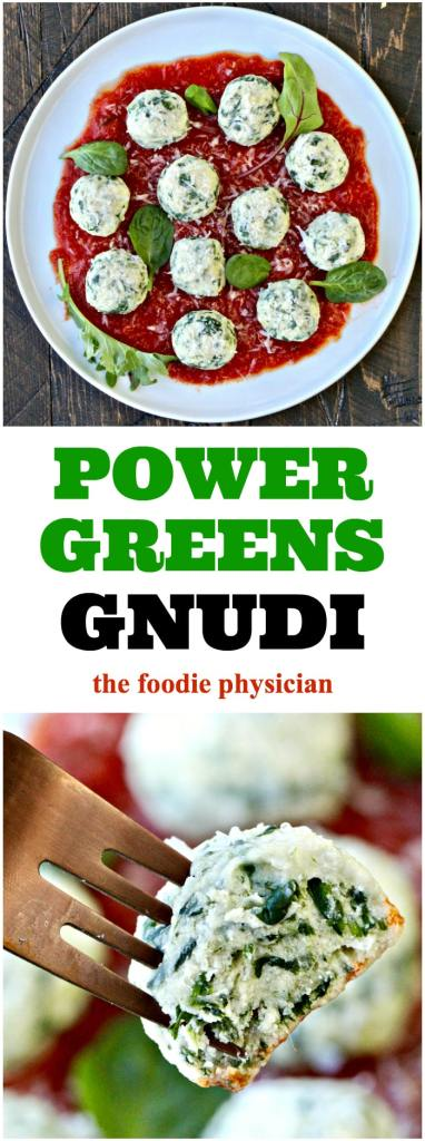 """These Power Greens Gnudi aka """"naked ravioli"""" are fluffy balls of deliciousness!"""