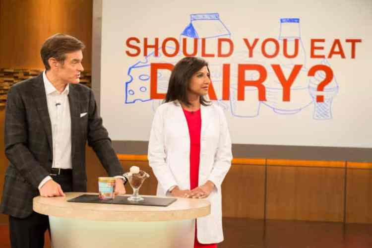 The Dr. Oz Show and 4-Ingredient Dairy-Free Parmesan Cheese