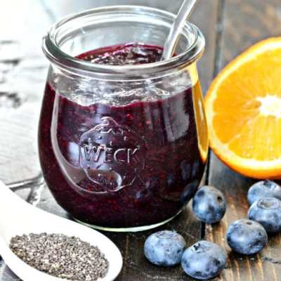 15-Minute Blueberry Chia Jam
