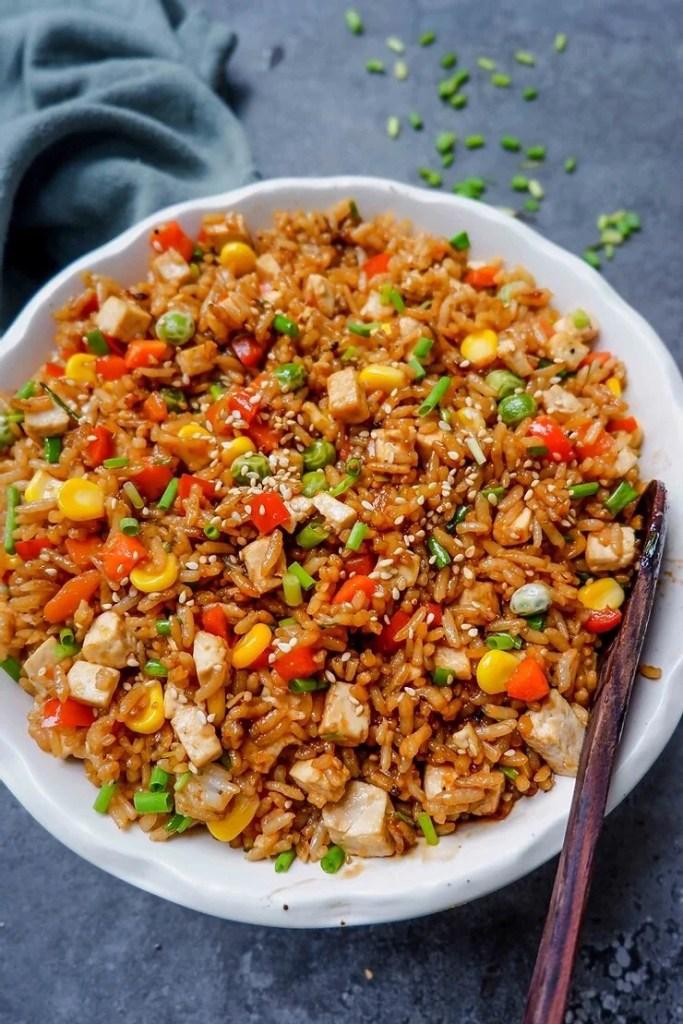 Easy Teriyaki Fried Rice