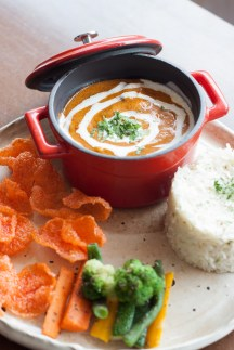 Creamy Chicken Tikka with Jeera Rice