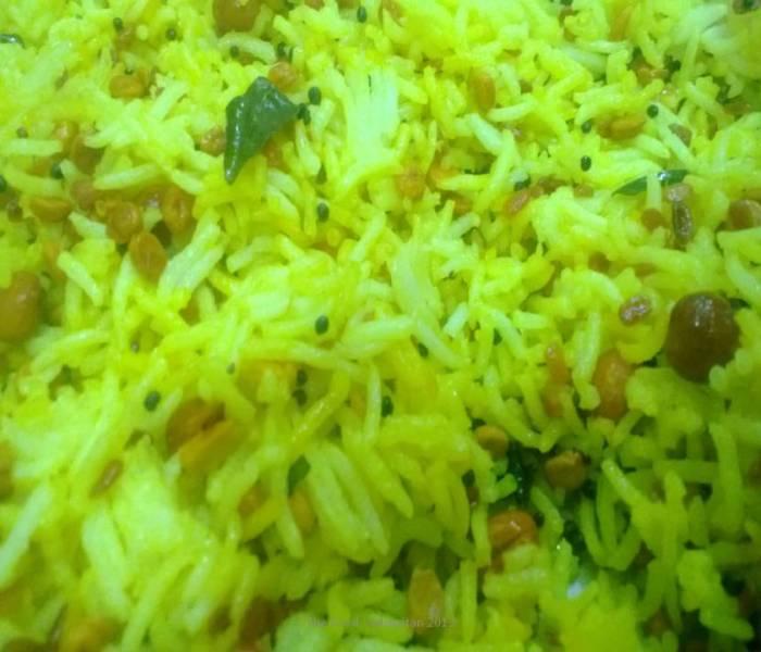 Lemon Rice (Erumachampazam Saadam)