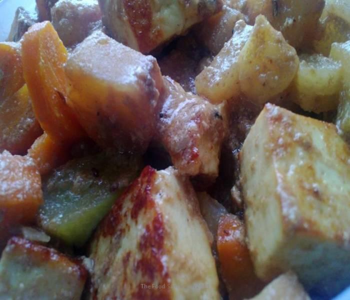 Khatti Meethi Subzi(Assorted sweet-sour vegetables)