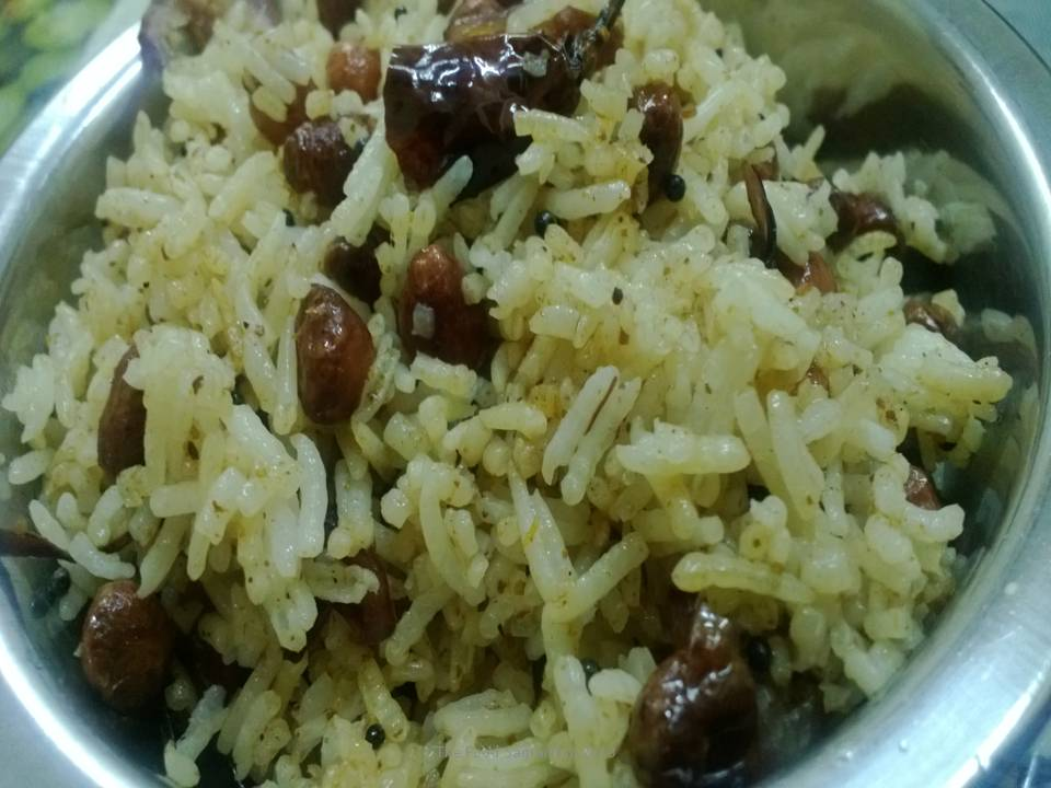 Masala Rice – Recycled from day old leftover rice