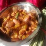 Coconut Rajma(Kidney Bean) Curry