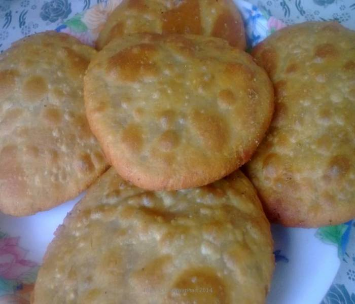Sattu Ki Kachori(Pulse Powder stuffed snack)