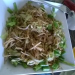 Sprouts and Vegetable Hakka Noodles