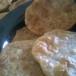 Bedmi Poori(Urad Dal stuffed Poori)