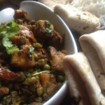Aloo Mutter Paneer(Stir fry Peas,Potatoes and Cottage Cheese)