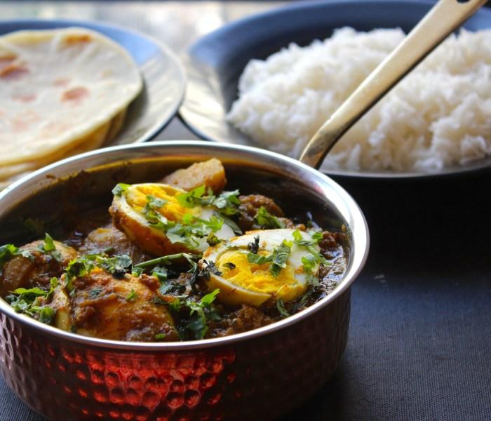 Dim Kosha (Bengali Style Egg Curry)